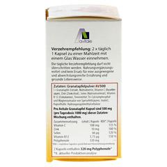 GRANATAPFEL 500 mg plus Vit.C+B12+Zink+Selen Kaps. 60 Stück - Linke Seite