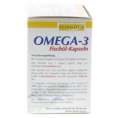 OMEGA-3 Fischöl Kapseln 100 Stück - Rechte Seite