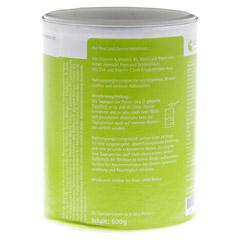 MUCOZINK Pulver 600 Gramm - Rechte Seite