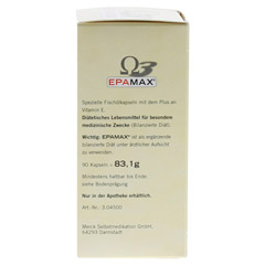 EPAMAX Kapseln 90 Stück - Rechte Seite