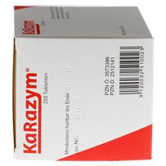 KARAZYM magensaftresistente Tabletten 200 Stück - Rechte Seite