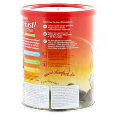 SLIM FAST Drink Pulver Schoko Royale 450 Gramm - Rechte Seite