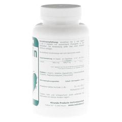 L-ARGININ 500 mg Kapseln 250 Stück - Rechte Seite