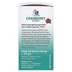 CRANBERRY KAPSELN 400 mg 60 Stück - Rechte Seite