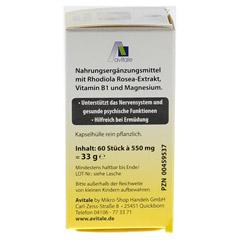 RHODIOLA ROSEA Kapseln 200 mg 60 Stück - Rechte Seite