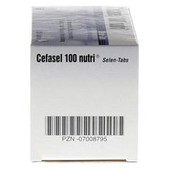 Cefasel 100 Nutri Selen-Tabs 200 Stück - Rechte Seite