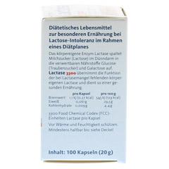 LACTASE 3.300 FCC 200 mg Kapseln 100 Stück - Rechte Seite