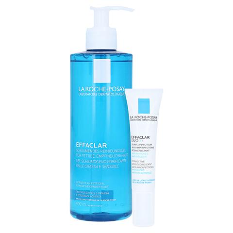 La Roche-Posay Effaclar Schäumendes Reinigungsgel + gratis LRP Effaclar Duo 15 ml 400 Milliliter