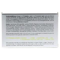 CHOLECYSMON Silberperlen 50 Stück - Rückseite