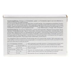 CHOLECYSMON Silberperlen 100 Stück - Rückseite
