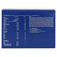 ORTHOMOL Vital M 15 Granulat/Kaps.Kombipackung 1 Stück - Rückseite