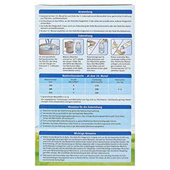 HOLLE Bio Säuglings Folgemilch 3 600 Gramm - Rückseite
