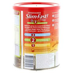 SLIM FAST Drink Pulver Schoko Royale 450 Gramm - Rückseite