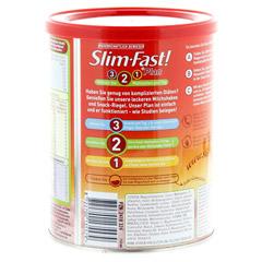 Slim-Fast Drink Pulver Erdbeere 438 Gramm - Rückseite