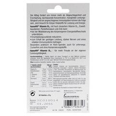 TAXOFIT Vitamin B12 Tabletten 60 Stück - Rückseite