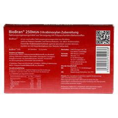 BIOBRAN 250 Tabletten 50 Stück - Rückseite