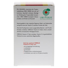 CEROLA Vitamin C Taler Grandel 96 Stück - Rückseite