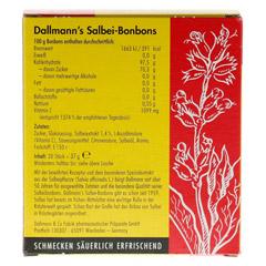 DALLMANN'S Salbeibonbons 20 Stück - Rückseite