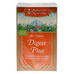 DIGEST Plus Tee kbA Filterbeutel 15 Stück - Rückseite