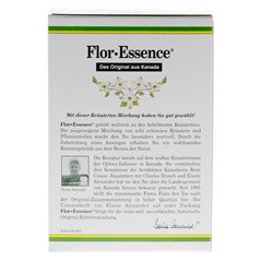 FLOR ESSENCE Tee 63 Gramm - Rückseite