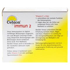 CEBION Immun 2 Kapseln 60 Stück - Rückseite