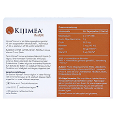 KIJIMEA Immun Pulver 28 Stück - Rückseite