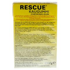 BACH ORIGINAL Rescue Kaugummi 37 Gramm - Rückseite