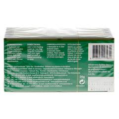 Vata Tee Filterbeutel 30 Gramm - Rückseite