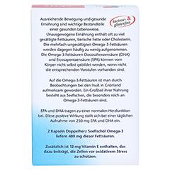 Doppelherz aktiv Seefischöl Omega-3 800 mg 120 Stück - Rückseite