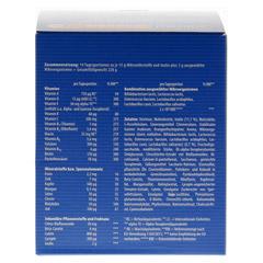 ORTHOMOL Immun pro Granulat 14 Stück - Rückseite
