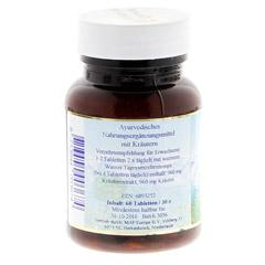 RASAYANA für Haare und Nägel Tabletten 30 Gramm - Rückseite