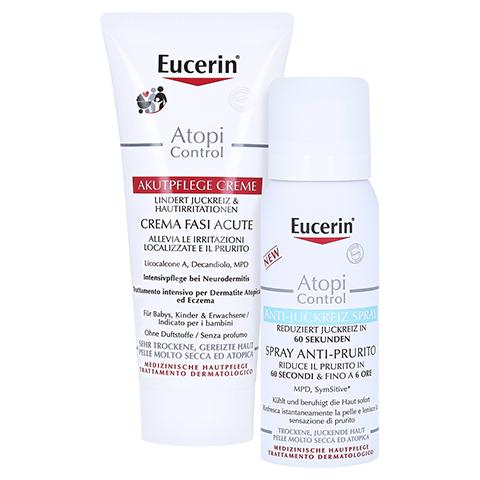 EUCERIN AtopiControl Akut Creme + gratis Eucerin AtopiControl Anti-Juckreiz Spray 50 ml 100 Milliliter
