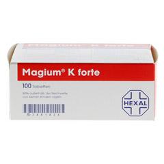 MAGIUM K forte Tabletten 100 Stück - Oberseite