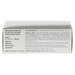 ALSIFEMIN Klima-Soja plus Calcium D3 Tabletten 60 Stück - Unterseite
