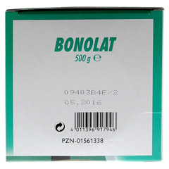 BONOLAT Grandel Pulver 500 Gramm - Unterseite