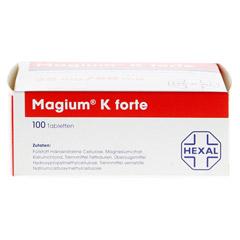 MAGIUM K forte Tabletten 100 Stück - Unterseite