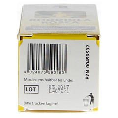 RHODIOLA ROSEA Kapseln 200 mg 60 Stück - Unterseite