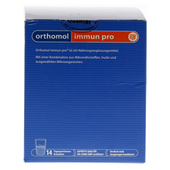 ORTHOMOL Immun pro Granulat 14 Stück - Unterseite