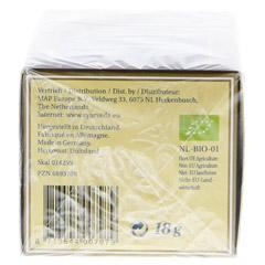 PITTA Tee kbA Filterbeutel 18 Gramm - Unterseite