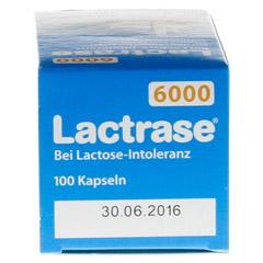 Lactrase 6.000 FCC Kapseln 100 Stück - Unterseite