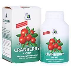 CRANBERRY KAPSELN 400 mg + gratis Cranberry Tee 240 St�ck