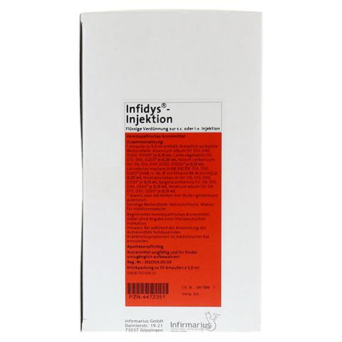 INFIDYS Injektion Ampullen 50x5 Milliliter