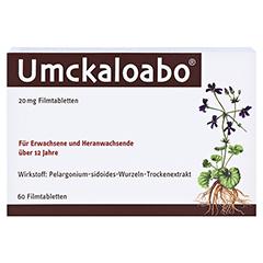 Umckaloabo 20mg 60 Stück - Vorderseite