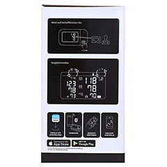 OMRON M500 Intelli IT Oberarm Blutdruckmessgerät 1 Stück - Linke Seite