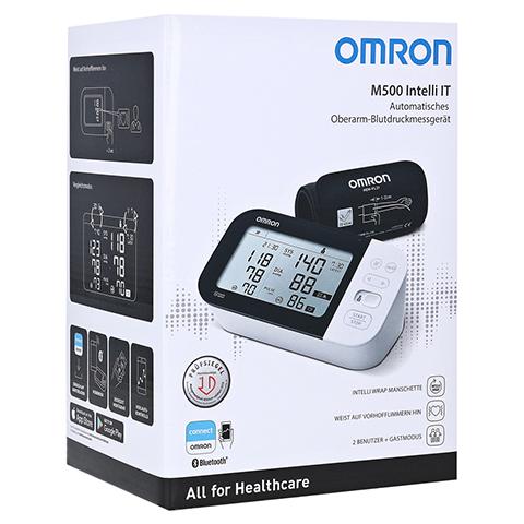 OMRON M500 Intelli IT Oberarm Blutdruckmessgerät 1 Stück