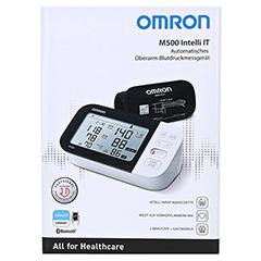 OMRON M500 Intelli IT Oberarm Blutdruckmessgerät 1 Stück - Vorderseite