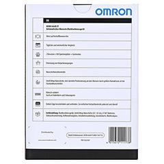 OMRON M500 Intelli IT Oberarm Blutdruckmessgerät 1 Stück - Rückseite