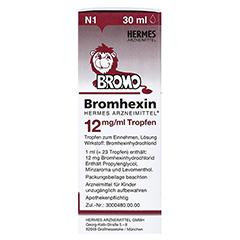 Bromhexin Hermes Arzneimittel 12mg/ml 30 Milliliter N1 - Linke Seite