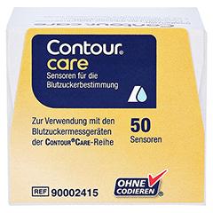 CONTOUR Care Sensoren 50 Stück - Unterseite