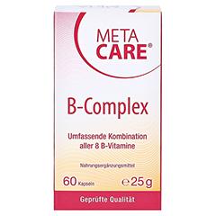 META CARE B-Complex Kapseln 60 Stück - Vorderseite